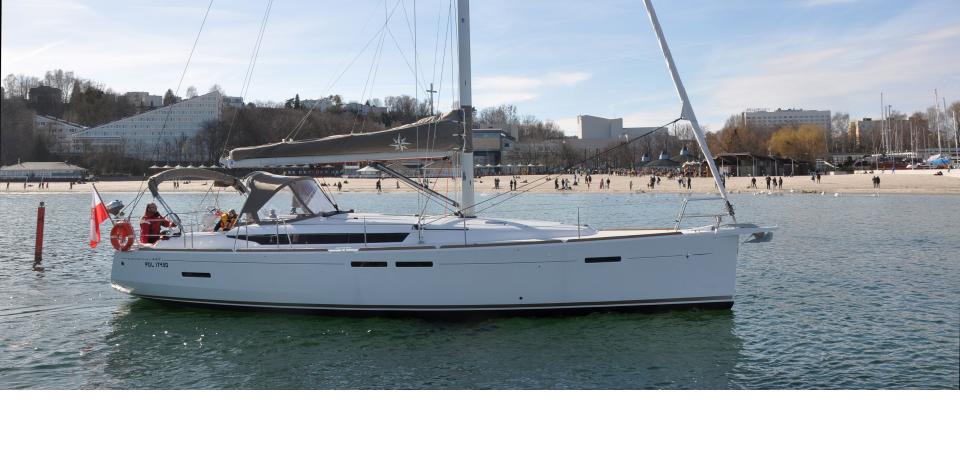 Nasz nowy jacht Sun Odyssey 449 – zapraszamy na pokład!